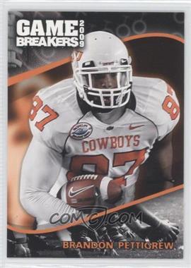 2009 Press Pass - Game Breakers #GB 12 - Brandon Pettigrew