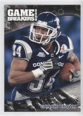 2009 Press Pass - Game Breakers #GB 14 - Donald Brown