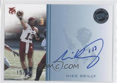 2009 Press Pass - Signings - Blue #PPS - MR - Mike Reilly /50