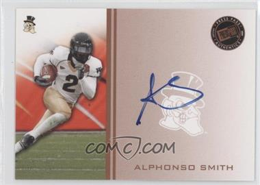 2009 Press Pass - Signings - Bronze #PPS - AS - Alphonso Smith
