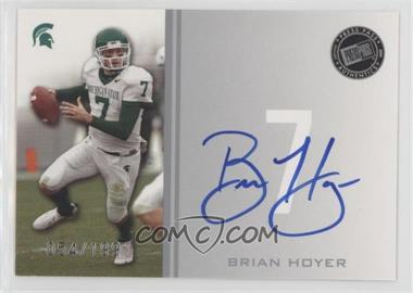 2009 Press Pass - Signings - Silver #PPS - BH - Brian Hoyer /199