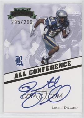 2009 Press Pass Legends - All Conference Autographs #AC-JD - Jarett Dillard /299
