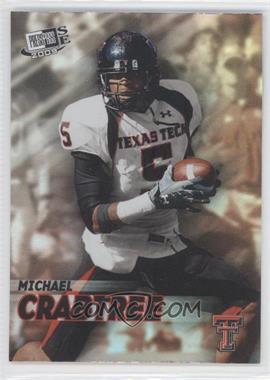 2009 Press Pass Signature Edition - [???] #RE-6 - Michael Crabtree