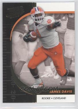 2009 Press Pass Signature Edition - [Base] - Gold #45 - James Davis