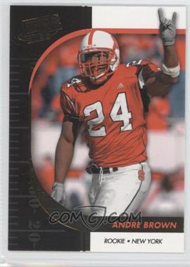 2009 Press Pass Signature Edition - [Base] - Gold #7 - Andre Brown
