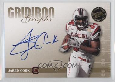2009 Press Pass Signature Edition - Gridiron Graphs - Gold #GG-JC.1 - Jared Cook