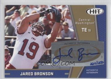 2009 SAGE Hit - Autographs - Gold #A91 - Jared Bronson /250