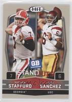 Mark Sanchez, Matthew Stafford