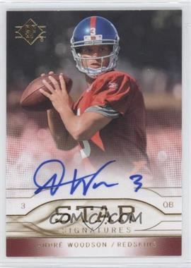 2009 SP - Star Signatures #SR-AW - Andre' Woodson