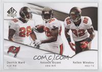 Kellen Winslow, Derrick Ward, Antonio Bryant