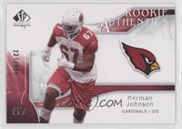 Rookie Authentics - Herman Johnson /999