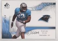 Rookie Authentics - Corvey Irvin #/999