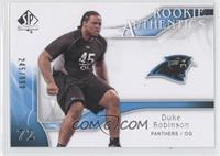Rookie Authentics - Duke Robinson /999