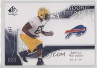 Rookie Authentics - Jamon Meredith #/999
