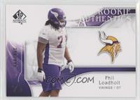 Rookie Authentics - Phil Loadholt /999