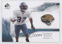 Rookie Authentics - Courtney Greene #/999