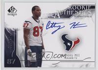 Rookie Authentics Signatures - Anthony Hill /999