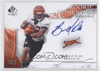 Rookie Authentics Signatures - Bernard Scott /999