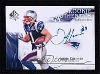 Rookie Authentics Signatures - Julian Edelman [Noted] #/999