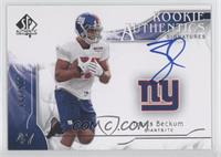 Rookie Authentics Signatures - Travis Beckum #/799