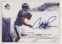 Rookie Authentics Signatures - Cedric Peerman #/799