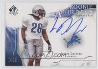 Rookie Authentics Signatures - Louis Delmas #/799