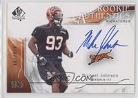 Rookie Authentics Signatures - Michael Johnson #/799