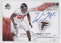 Rookie Authentics Signatures - William Moore #/799
