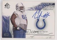 Rookie Authentics Signatures - Terrance Taylor #/999