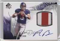 Rookie Authentics Auto Patch - Rhett Bomar [Noted] #/999