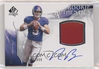 Rookie Authentics Auto Patch - Rhett Bomar #/999