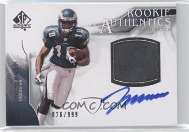 2009 SP Authentic - [Base] #385 - Rookie Authentics Auto Patch - Jeremy Maclin /999