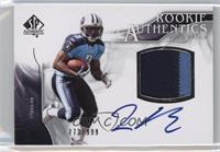 Rookie Authentics Auto Patch - Javon Ringer /999