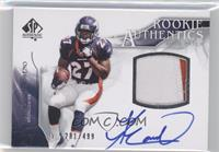 Rookie Authentics Auto Patch - Knowshon Moreno /499
