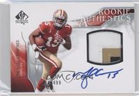 Rookie Authentics Auto Patch - Michael Crabtree /499