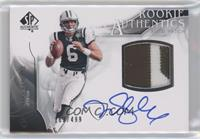 Rookie Authentics Auto Patch - Mark Sanchez #/499