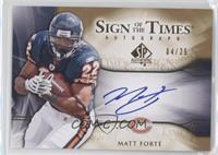 Matt Forte' #/25
