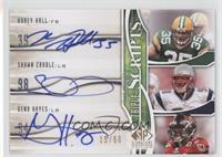 Shawn Crable, Korey Hall, Geno Hayes #/50