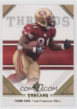 2009 SP Threads - [Base] #38 - Frank Gore