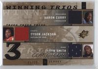 Aaron Curry, Tyson Jackson, Jason Smith /50