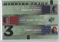 Knowshon Moreno, Charlie West, Don Breaux /15