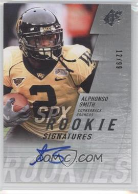 2009 SPx - [Base] - Silver #152 - Alphonso Smith /99