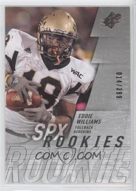 2009 SPx - [Base] - Silver #204 - Eddie Williams /399