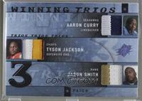Jason Smith, Aaron Curry, Tyson Jackson /25