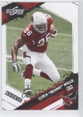 2009 Score - [Base] #323 - Chris Wells