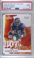 Hakeem Nicks [PSA 9 MINT] #/32