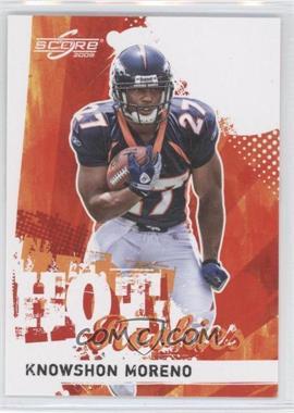 2009 Score - Hot Rookies #16 - Knowshon Moreno