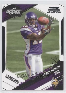 2009 Score Inscriptions - [Base] - End Zone #383 - Percy Harvin /6