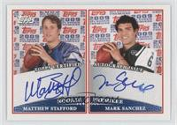 Mark Sanchez, Matthew Stafford