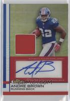 Andre Brown #/15